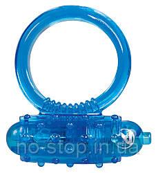 Ерекційне кільце - Vibro Ring Silikon Blue