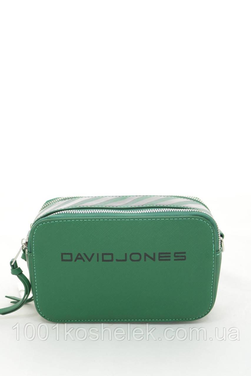 Клатч David Jones 6169-1 Green