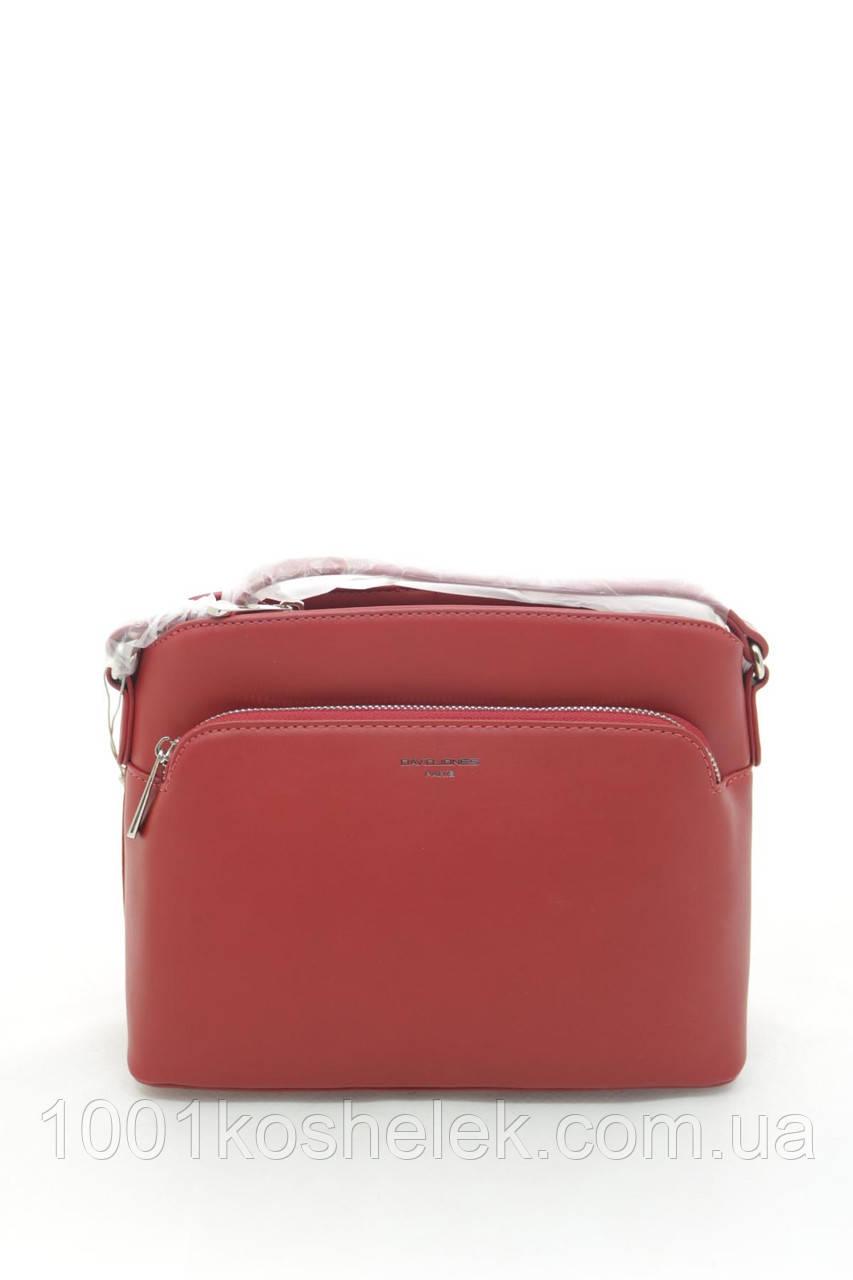 Клатч David Jones 6171-1 Red