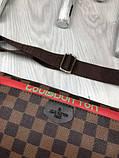 Стильная Женская бананка Louis Vuitton коричневая Турция Качество поясная сумка на пояс VIP Луи Виттон реплика, фото 9