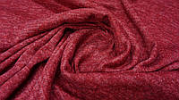 Ткань ангора-софт с начесом меланж красный