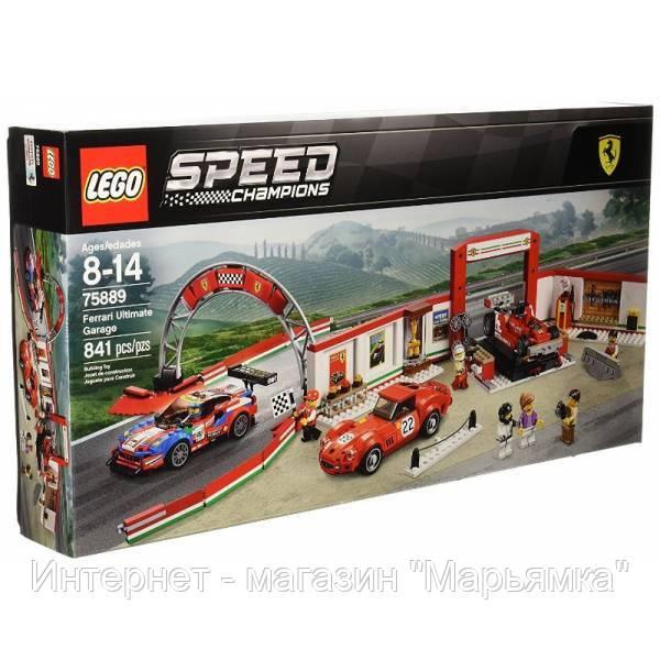 LEGO Speed Champions Гараж Феррари Ferrari Ultimate Garage 75889