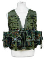 Разгрузочный жилет  TASMANIAN TIGER Ammunition Vest FT flecktarn II (TT 7923.464)