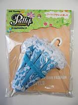 Зонтик голубой для куклы Блайз, Пуллип Gothic Umbrella Blue Jun Planning Outfit Sets Pullip