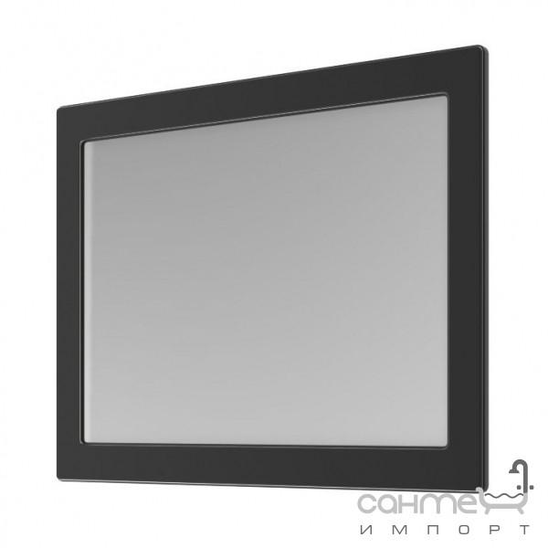 Мебель для ванных комнат и зеркала Аква Родос Зеркало Аква Родос Беатриче 100 чёрное, патина хром