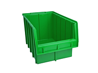 Ящик пластиковый №700 цветной, с размерами ДхШхВ 350х210х200 мм (объем 6л)