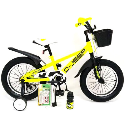 "Детский велосипед Sigma D-JEEP R20"" (Желтый)"