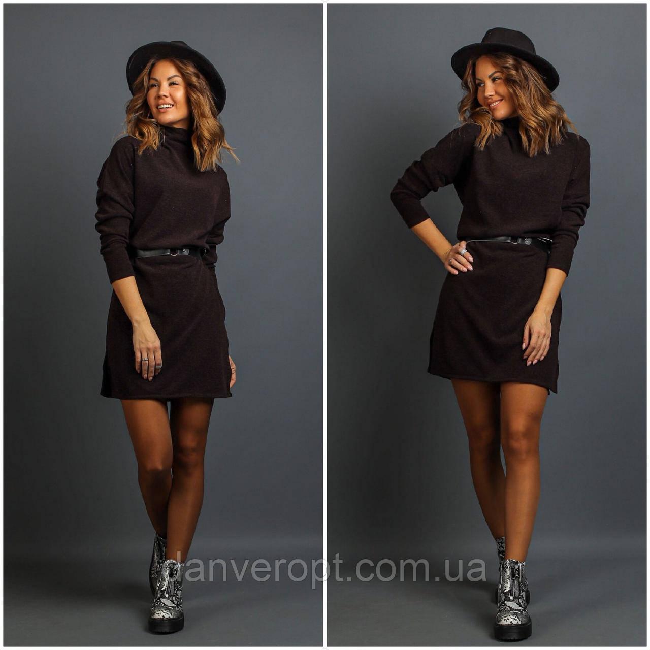 Сукня жіноча модна з поясом розмір 42-52 купити оптом зі складу 7км Одеса