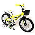 "Детский велосипед Sigma D-JEEP R20"" (Желтый), фото 3"