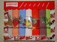 Комплект полотенец Mercan Вафелька неделька кухня 7шт 40х60 Tурция  pr-86