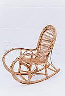Кресло качалка деревянное | Кресло-качалка плетеное | кресло качалка для дачи, фото 1