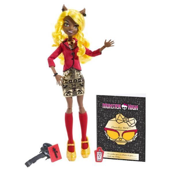 Monster High Клаудиа Вульф из серии Страх, Камера, Мотор