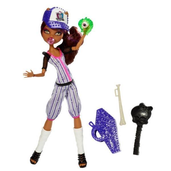 Monster High Клодін Вульф з серії Монстри Спорту