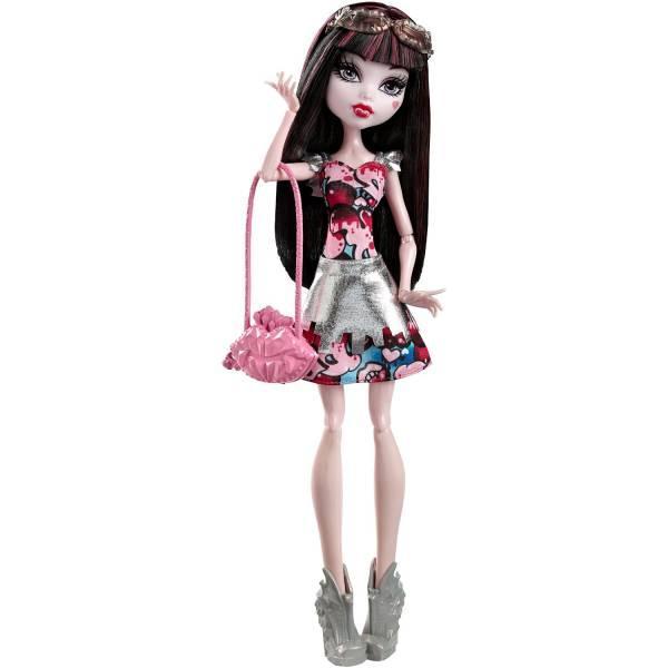 Monster High Кукла Дракулаура из серии Бу Йорк Boo York, Boo York Frightseers Draculaura Doll