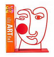 Держатель для книг Red Art Face (красный), фото 1