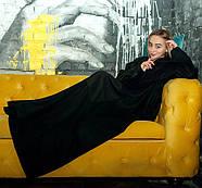 Плед с рукавами флисовый (черный), фото 4