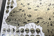Скретч карта Украины My Map Ukraine edition (украинский язык) в тубусе, фото 10