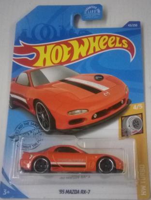 Машинка Hot Wheels 2020 '95 Mazda RX-7