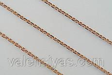 Цепочка позолота серебряная
