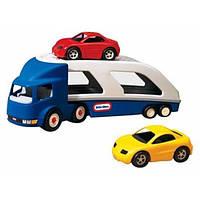 Little Tikes Автовоз с двумя машинками Large Car Carrier