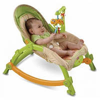 Fisher-Price кресло качалка Newborn to Toddler Portable Rocker 0-4 лет