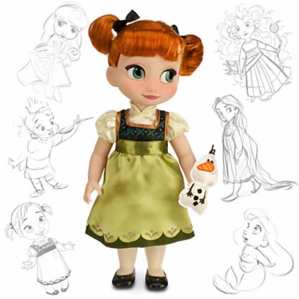 Кукла Анна аниматор Дисней Disney Animators Collection Anna