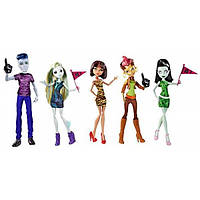 Monster High Набор из 5 кукл Студсовет Student Disembody Council 5 Pack Doll, фото 1