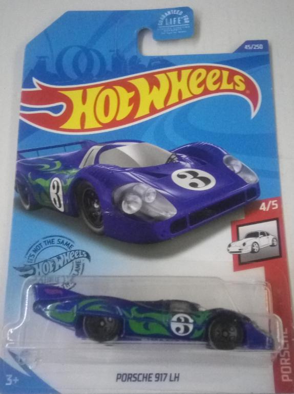 Машинка Hot Wheels 2020 Porsche 917 LH