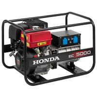 Однофазный бензиновый генератор HONDA EC5000K1 (5 кВт)