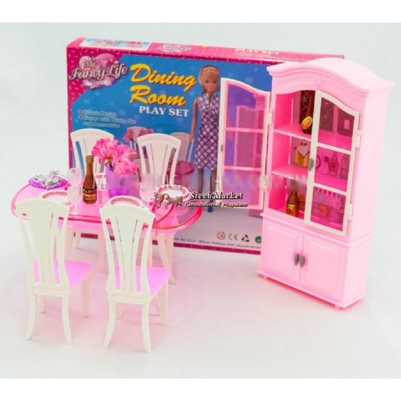 """Мебель для кукол """"Стильная столовая"""" Gloria 24011"""