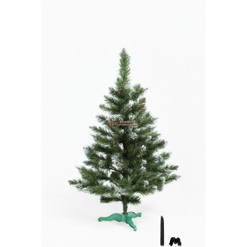 """Искусственная елка """"Лидия"""" с белыми кончиками 1м"""