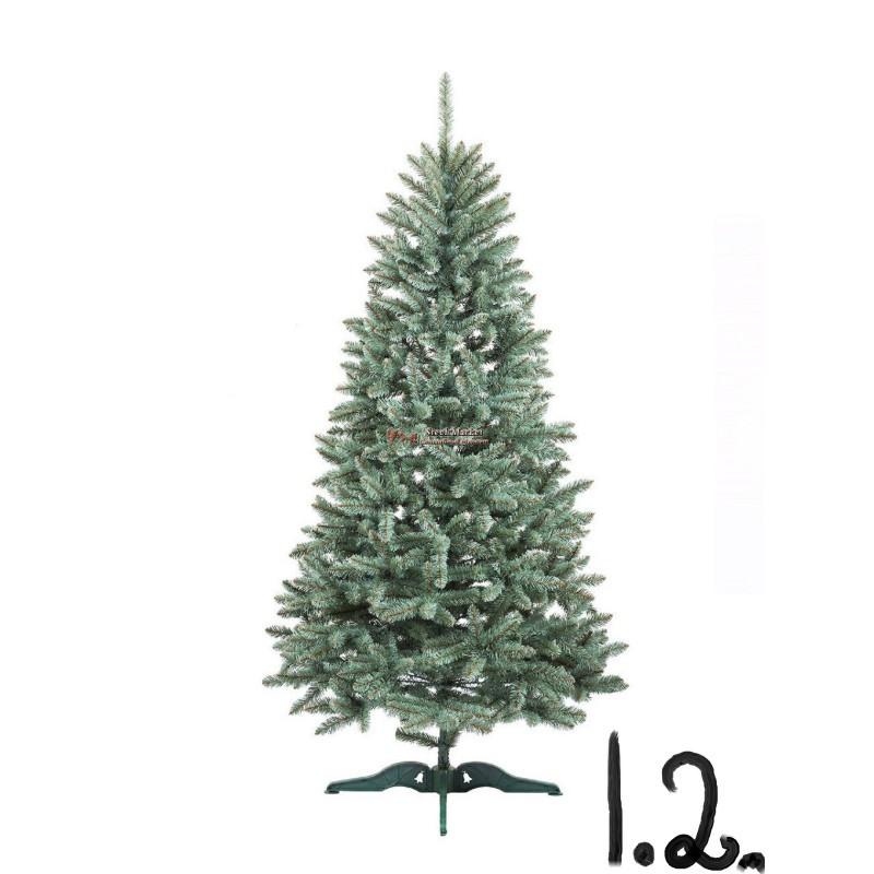 """Искусственная елка """"Анастасия"""" Голубая 1.2м"""