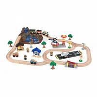 Kidkraft Деревянная Горная дорога Bucket Top Mountain Train Set