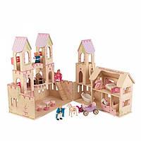 Kidkraft Кукольный домик Замок Принцессы и фигурки Princess Castle Dollhouse and Figures