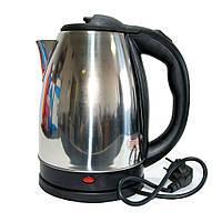 🔝 Дисковый электрочайник, Electric Kettle Easy to enjoy Life, 2 л., из нержавеющей стали с доставкой | 🎁%🚚