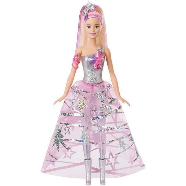 Barbie Космическое приключение Барби Star Light Adventure Gown Doll DLT25
