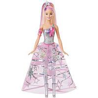Barbie Космическое приключение Барби Star Light Adventure Gown Doll DLT25, фото 1