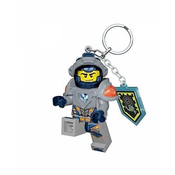 LEGO Nexo Knights Брелок-фонарик Клей Clay Key Light with Shield Power IQLGL-KE87