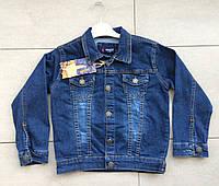 Джинсовая весенняя куртка на мальчика 3 года tati, фото 1
