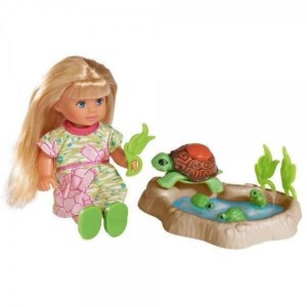 Simba Evi Love Еви с семьей черепашек Turtle Fun 5732505