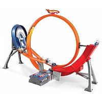 Hot Wheels Моторизированный трек Безумный форсаж с 5-ю машинками Power Shift Raceway Motorized Loop & Jump