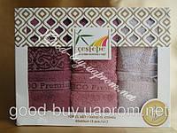 Комплект полотенец Cestepe 3 - бамбук кухня 3шт: 40х60  Турция  , фото 1