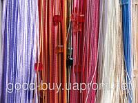 Шторы - Нити - Разноцветные с квадратным стеклярусом, фото 1