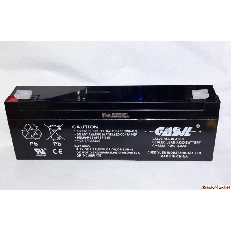 Аккумулятор CASIL СА1222 12V 2.2Ah