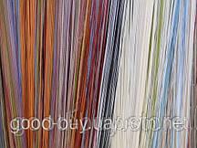 Тюль - Нити - Разноцветные - простые -2