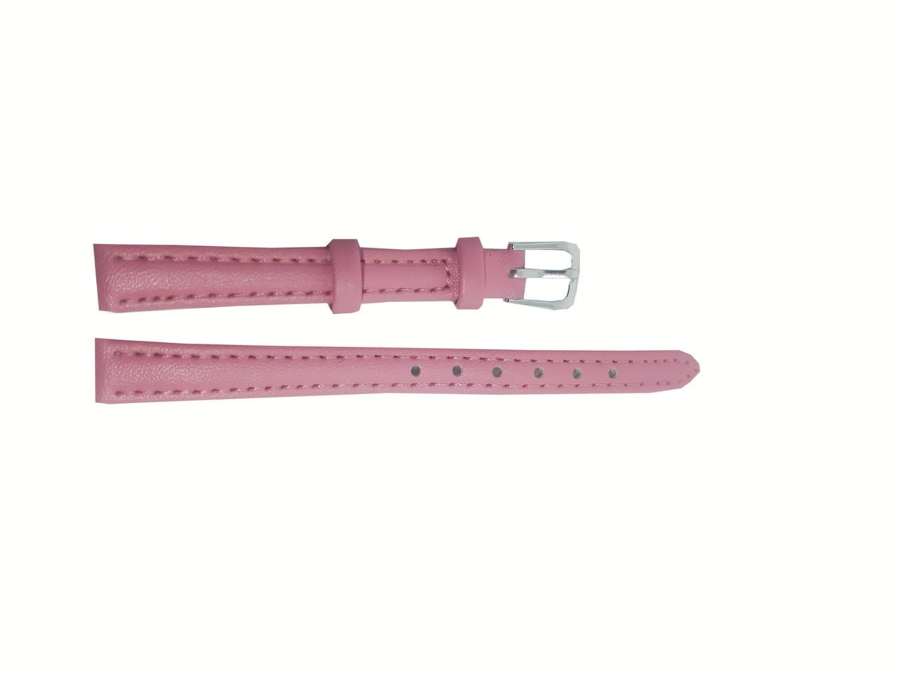 Ремешки цветные для часов  12 мм Розовый опт