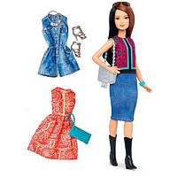 Barbie Барби Модница с набором одежды Fashionistas Fashions Pretty In Paisley, фото 1