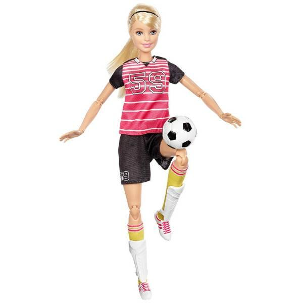 Barbie  Барби карьера я могу быть Футболисткой Made to Move The Ultimate Posable Soccer Player Doll