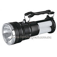 Фонарь переносной(фонарь светодиодный аккумуляторный) YAJIA 2881 T, 1W+24SMD, солн. батарея