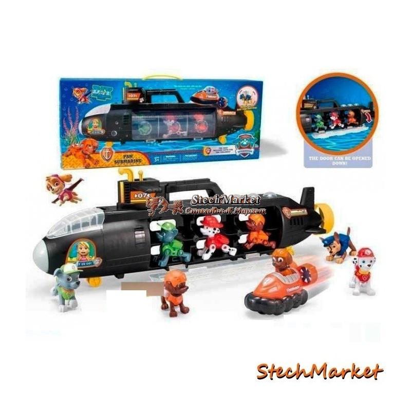 Подводная лодка Щенячий патруль + 3 щенка XZ-871